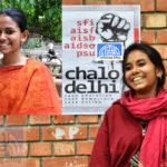 জওহরলাল নেহরু বিশ্ববিদ্যালয়: গেরুয়াবাহিনীকে রুখে দিল দুর্গাপুরের ঐশি